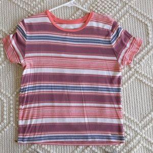 Abercrombie strip shirt